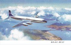 BOAC DC-7