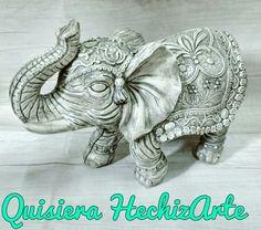 Elefante de Piedra. Quisiera HechizArte, Objetos de Diseño