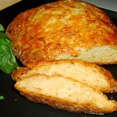 Savory Onion Bread Allrecipes.com  Just made it tonight with a few modifications...yummY!
