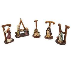 A contemporary nativity scene ... FAITH!