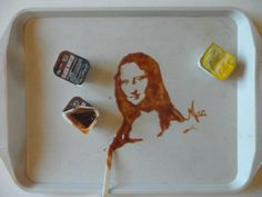 La Joconde sauce barbec [Vivi Mac] (Gioconda / Mona Lisa)