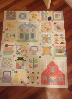 Love these blocks from Farm Girl Vintage book