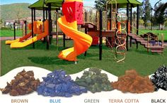 Choose your favorite color! Playground Rubber Mulch, Outdoor Projects, Things To Buy, Outdoor Spaces, Favorite Color, The Outsiders, Backyard, Garden, Fun
