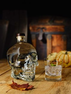 Crystal Head Vodka is the must-have hostess gift to bring to a dinner party, a special occasion event or to serve to guests at Halloween parties. Crystal Head Vodka, Hostess Gifts, Flask, Whiskey Bottle, Halloween Party, Barware, Special Occasion, Crystals, Cocktails