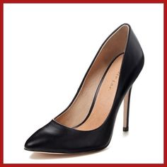 Maiden Lane Black Leather Toe Pumps Very nice Black Leather Toe Pumps . Shoes Heels