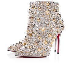 90f9fb7a6235 So Full Kate 100 Silver Multi Calf Glitter - Women Shoes - Christian  Louboutin
