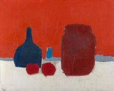 Still lifeStill life (Nature morte) (1953) Nicholas de STAËL oil on canvas 65.0 × 81.2 cm