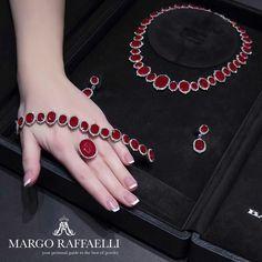 Bayco Jewels suite with Mozambique rubies and diamonds   www.margoraffaelli.com