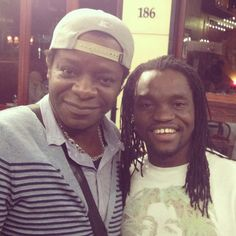 With Stephen K Amos- One funny Brother.