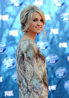 Pictures of Carrie Underwood Messy Updo Hairstyles. Get hairstyles ideas and inspiration with Carrie Underwood Messy Updo Hairstyles. Wedding Hairstyles For Long Hair, Party Hairstyles, Wedding Hair And Makeup, Celebrity Hairstyles, Wedding Updo, Homecoming Hairstyles, Modern Hairstyles, Bridal Hairstyles, Hair Makeup