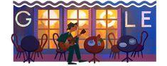 anniversary of the birth of Noel Rosa Samba, Brazilian People, Birthday Dates, Google Doodles, December 11, Student Gifts, Popular Music, Night Life, The Neighbourhood