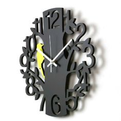 creative clock | Hot Selling Amazing Creative Woodpecker Wall Clock - beddinginn.com
