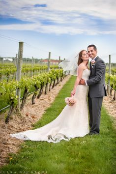 Beautiful bride and groom romantic wedding  portrait at Raphael Vineyard and Winery