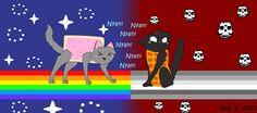 nyan cat | Nyan Cat and Tac Nayn by ~SweetKittyCat on deviantART