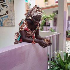 Back to Senegal. Women are so elegant #lovesenegal #doomondar