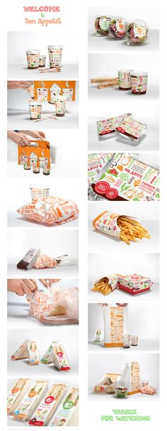 FASTFOOD PACKAGING DESIGN FOR HOT COFFEE BY ILONA BELOUS