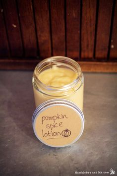 Pumpkin Spice Body Lotion Recipe DIY Bath and Body Recipes for Beauty & Natural Skin Care Diy Lotion, Lotion Bars, Homemade Skin Care, Homemade Beauty Products, Natural Products, Bath Products, Lotion En Barre, Pumpkin Facial, Lotion Recipe