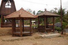 Kontraktor Waterpark: Jual Gazebo Penunjang Waterpark