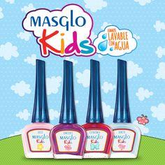 Colección Kids #SoyMasglo #Masglo #MasgloLOVERS #ColeccionKids #NailPolish