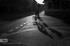 evening bike Zurich Switzerland (via Flickr http://flic.kr/p/yNJYNt)