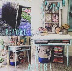 Old Desk Redo on Pinterest