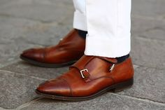 current fave - monk shoes. Too bad the dude's arches are too high to do up the buckles