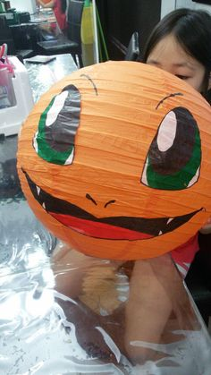 draw/paint eyes, etc on white tissue paper and then glue to lanterns? Kids Birthday Themes, 6th Birthday Parties, 8th Birthday, Diy Party, Party Gifts, Party Ideas, Monster Party, Diy Craft Projects, Diy And Crafts