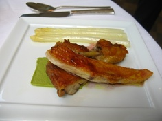 Organic chicken with green citrus sauce from Jean-George's