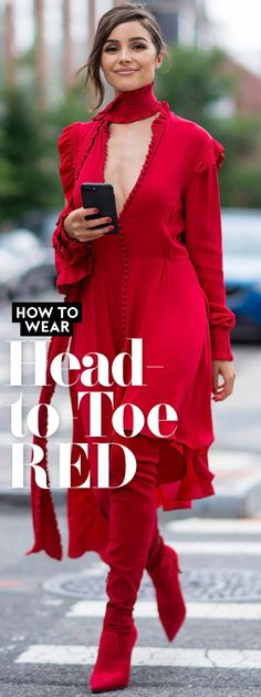 Find out how to make heads turn in the universally flattering color.