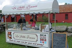 Our award winning crepe cart, available for rent!