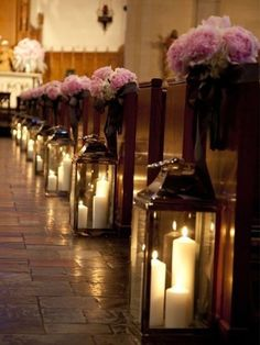 Decoração de casamento com velas   Veja como usar