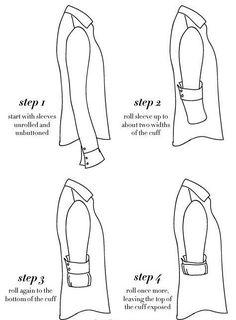 how to fold sleeves up - Szukaj w Google