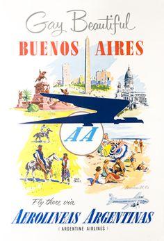 Gay Beautiful Buenos Aires, ca. 1955