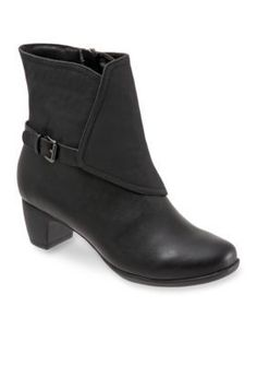 Trotters Black Stormy Rain Boot