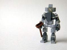 Mechs built from Legos For the game; Mobile Frame Zero. SWAG bot: Designed by: Submag