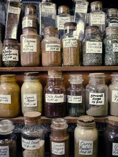 Stock my future spice cabinet--buying a whole bunch of spices to start out with will not be in my budget!