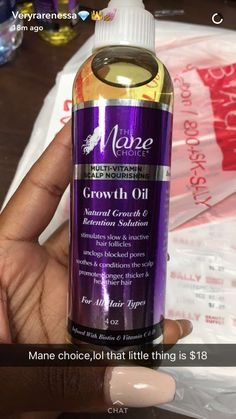 lol I'm using wild growth right now with protective styles, I'm thinking about getting the Doo Gro Mega Thick Oil too - follow the queen - @pinnerqueenn