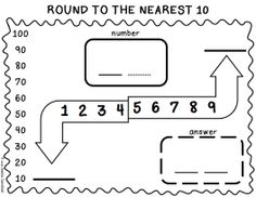 3rd Grade Freebie Rounding Whole Numbers Task Cards
