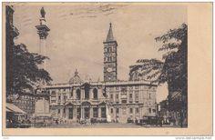 ROMA - BASILICA DI S. MARIA MAGGIOREVG 1943 BELLA FOTO D'EPOCA ORIGINALE 100% - Roma