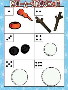 $3.00 ROLL-A-SNOWMAN II GAME