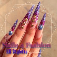 Styletto Nails, Nails 4 Fashion  Hollywood Nails