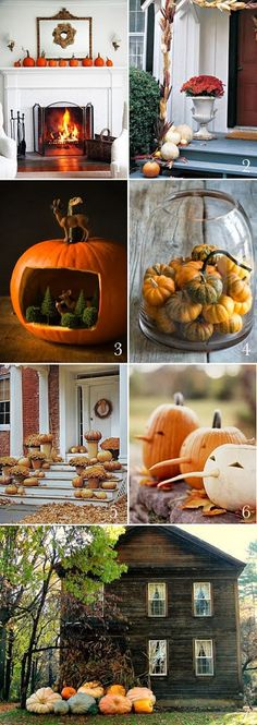 Fall Tablescape Seasons of Home series - Rooms For Rent blog - halloween decoration rentals