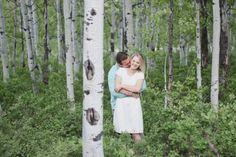 Chelsey Chalk Photography Aspen Tree Engagement Photography Utah