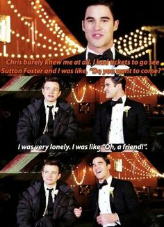 Chris Colfer & Darren Criss