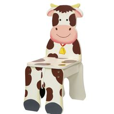 Farmyard Cow Chair by Teamson