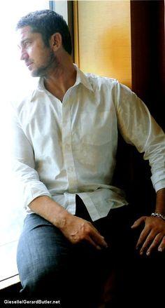 Gerard Butler...he's waiting for me. Yep!