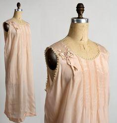 1920s Night Gown . Flapper Boudoir  by VeraVague