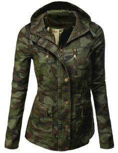 9Xis Women's Camo Military Cotton …