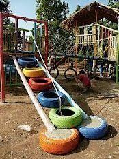 Billedresultat for tyres for playgrounds