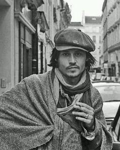 Johnny Depp - Paris 2003